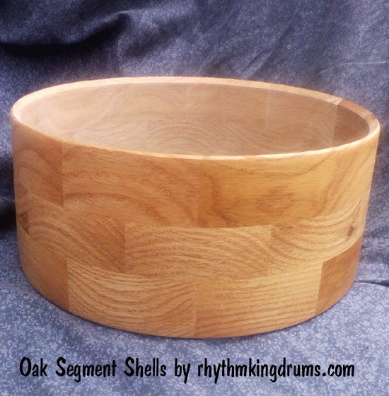 Domestic Segment Snare Drum Shells